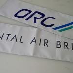ORC主催 oriental air bridge主催 ゴールテープ画像
