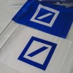 ドイツ証券手旗 2色